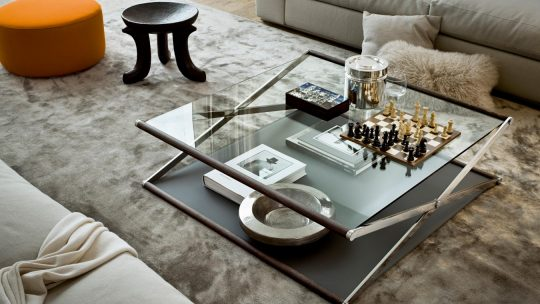 Table basse relevable : c'est pratique et décoratif