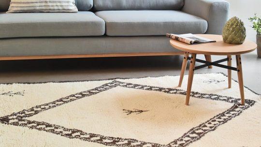 Dans quelles pièces les tapis berbères vont-ils le mieux ?